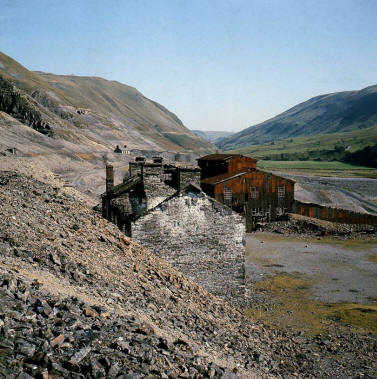 Cwmystwyth mines (from the Cambrian Mines Trust website)